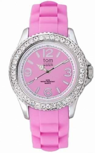 tom watch Damen-Armbanduhr XL Analog Silikon WA00020