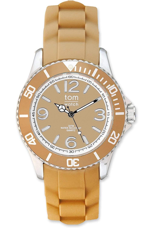 tom watch Damen-Armbanduhr XL Analog Silikon WA00025