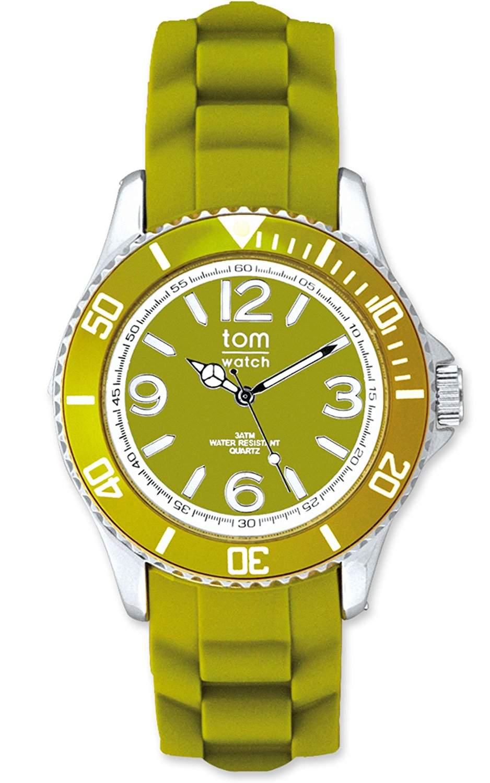 tom watch Damen-Armbanduhr XL Analog Silikon WA00028