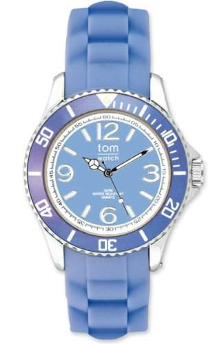 TOM WATCH Armbanduhr BASIC 44 mm Lavender Blue, Groesse XL 133-32