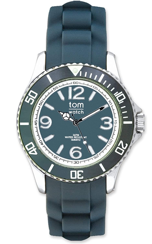 tom watch Damen-Armbanduhr XL Analog Silikon WA00037