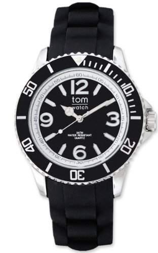 tom watch Damen-Armbanduhr XL Analog Silikon WA00049