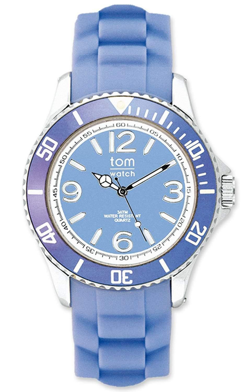 tom watch Damen-Armbanduhr Analog Silikon WA00065