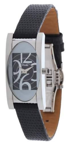 Misaki Damen Armbanduhr Schwarz PWAPOLLONIA