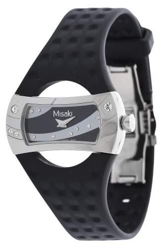 Misaki Herren-Armbanduhr Analog Quarz Silikon PWMANTA