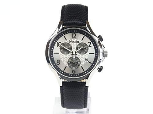 Misaki Damen-Armbanduhr Analog Quarz Leder QCRWBETA-L