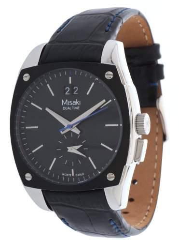Misaki Herren Armbanduhr Schwarz QCRWMC98M6