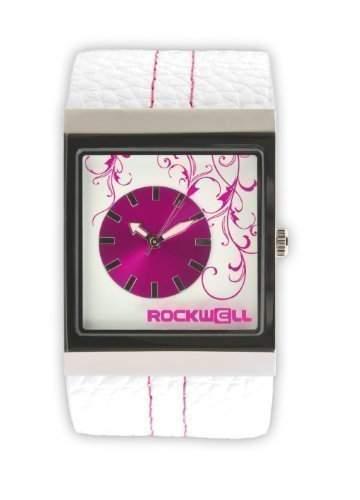Rockwell Mercedes White Leather Pink MC101 Damenarmbanduhr