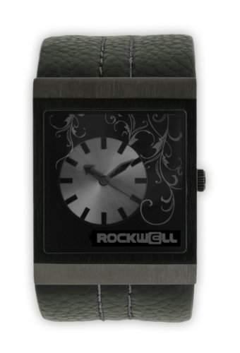 Rockwell Mercedes Black Leather Black MC105 Damenarmbanduhr