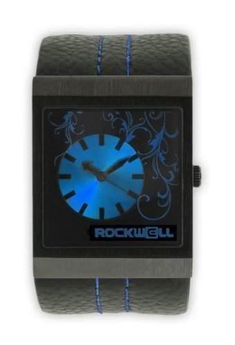Rockwell Mercedes Black Leather Blue MC108 Damenarmbanduhr