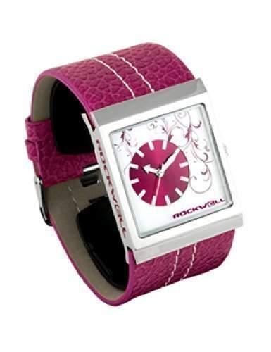 Rockwell Mercedes Pink Leather Pink MC117 Damenarmbanduhr