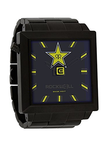 Rockwell Rockstar 50mm2 Black Black Armbanduhr Limited Edition