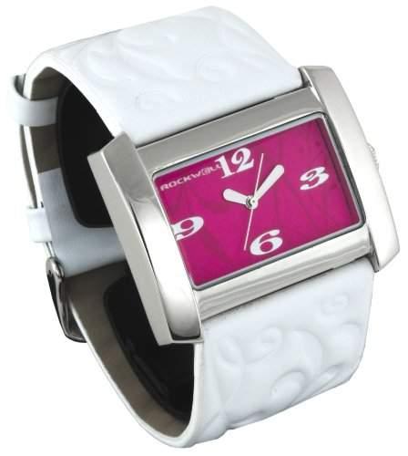 Rockwell Vanessa White Leather Pink VN103 Damenarmbanduhr
