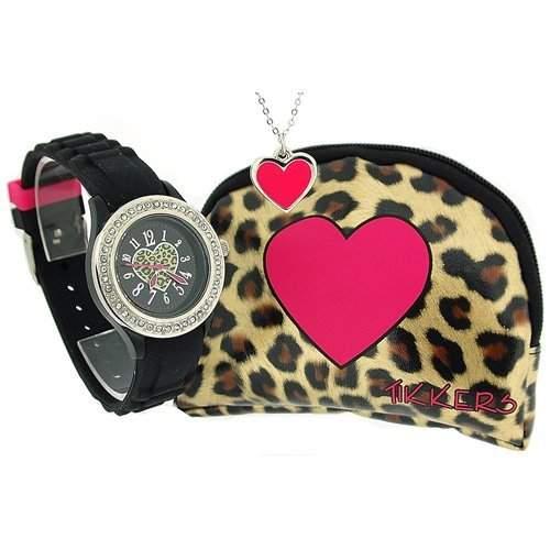 Tikkers Geschenkset, Armbanduhr, Halskette und Portemonnaie ATK1011