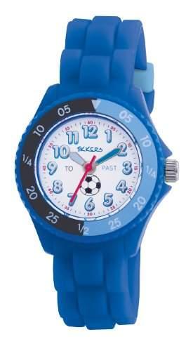 Tikkers Jungen-Armbanduhr Analog Plastik blau TK0002