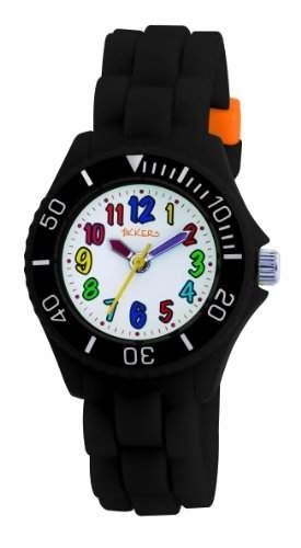 Tikkers Kinder und Jugendliche-Armbanduhr Analog Plastik weiss TK0016