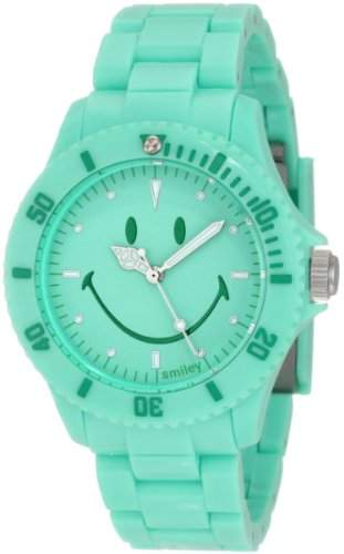 Smiley Happy Time Unisex-Armbanduhr Analog gruen WGS-PPGV01