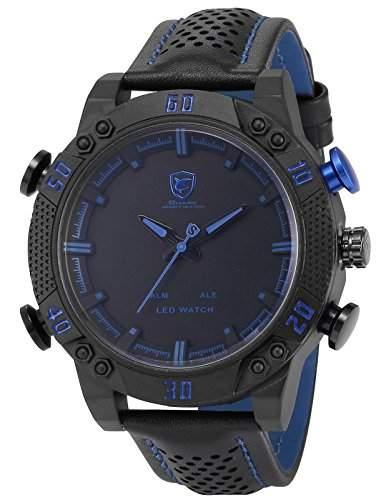 Shark Herren LED Armbanduhr XXL SH265