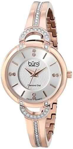 BURGI Damen-Armbanduhr BUR105RG Analog Quarz BUR105RG