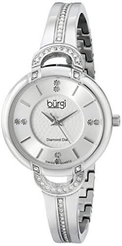 BURGI Damen-Armbanduhr BUR105SS Analog Quarz BUR105SS