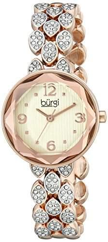 BURGI Damen- BUR124RG Analog Quarz BUR124RG