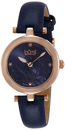 BURGI Damen-Armbanduhr Woman Analog Quarz BUR128BU