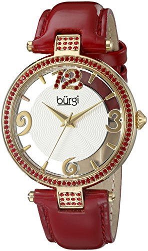 BURGI Damen Armbanduhr BUR150RD