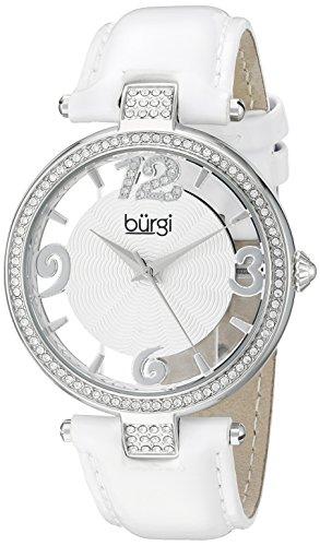 BURGI Damen Armbanduhr BUR150WT