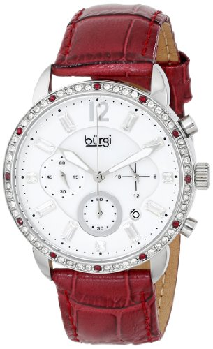 Burgi Analog Display Quarz rot BUR089BUR