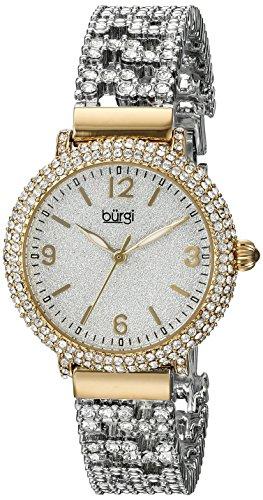 BURGI Damen Armbanduhr Analog Quarz BUR140YG