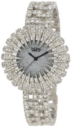 BURGI Dazzling Crystal Analog Quarz