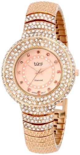 Burgi Diamond Accent Kristall Fashion BUR048RG