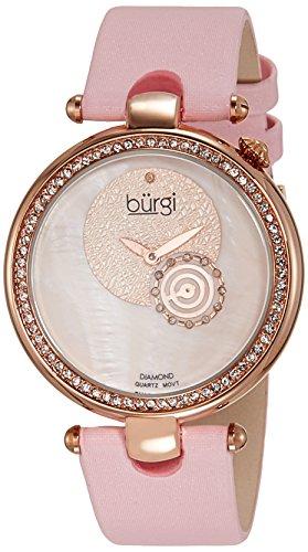BURGI Round Analog Quarz BU42PK