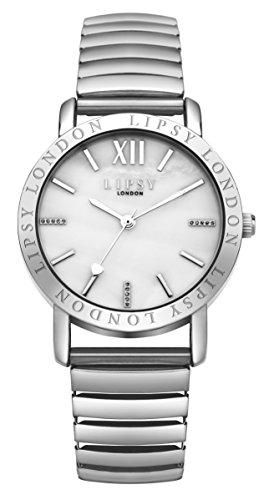 Lipsy Damen Armbanduhr Analog Quarz SLP001SM