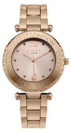 Lipsy slp003rgm Damen Rose Gold Armbanduhr