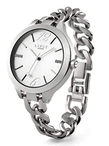 Lipsy womenHerren-Armbanduhr 17251562 Analog-Anzeige und Silber-Armband-LP323 andere