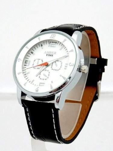 Dezent anmutende Herren Uhr U-49 Chrono