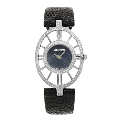 Valentino Vanity Edelstahl Diamant Damen Fashion Armbanduhr v42sbq9109 s009