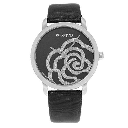 Valentino Rose schwarz v41sbq 9999 ss009 Edelstahl Quarz