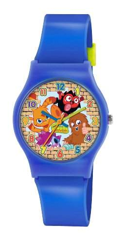Moshi Monsters Kinder-Armbanduhr Analog Kunststoff Blau MM017