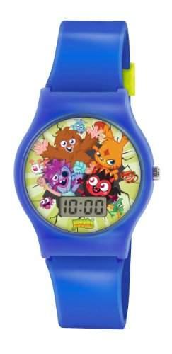 Moshi Monsters Kinder Digital Uhr mit Zifferblatt-Digital Display und Blau PU Gurt MM018