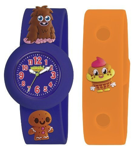 Moshi Monsters Armbanduhr Blau Furi Uhr Orange Uhrenarmband AMMFU 0002