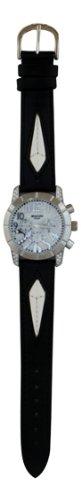 WAOOH Uhr 03873A Schwarz Weiss Leder Armband 5