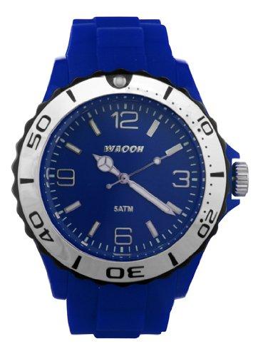 Waooh Uhr MC42 Blau Luenette Schwarz Silver