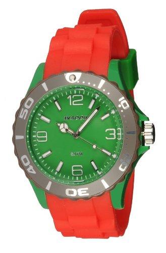 Waooh Uhr MC42 Tricolor Rot Gruen Maulwurf