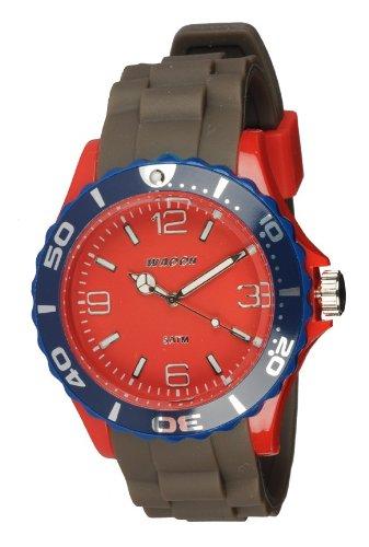 Waooh Uhr MC42 Tricolor Maulwurf Rot Blau