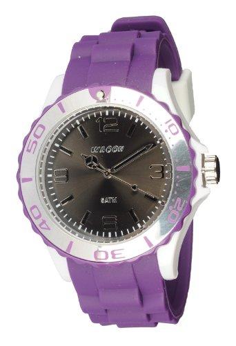 Waooh Uhr STM42 Tricolor Violett Weiss Schwarz