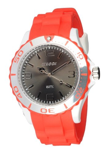 Waooh Uhr STM42 Tricolor Rot Weiss Schwarz