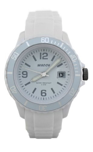 Waooh Uhr MONACO 38 Weiss
