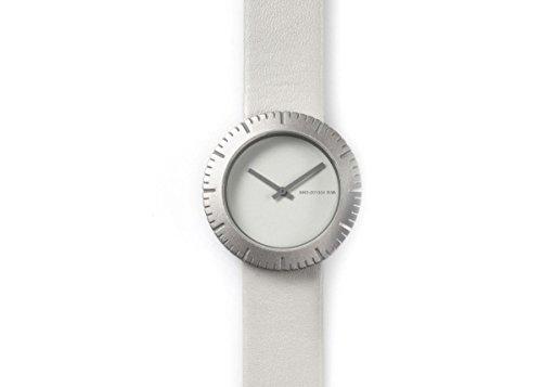 NAVA DESIGN Uhr Slice Gradation White Unisex O500 W